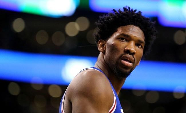 joel embiid reaction NBA 2K18 rating video