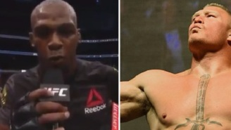 Jon Jones Calls Out Brock Lesnar After Knocking Out Daniel Cormier At UFC 214