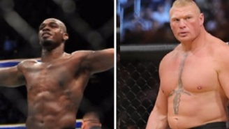 Brock Lesnar's Return To The UFC To Fight Jon Jones Is Reportedly 'Imminent'