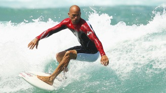 Surfing Legend Kelly Slater Busted Up His Foot Real Good, Shared A GRUESOME X-Ray To Prove It