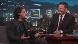 Kit Harrington (Jon Snow) Was On 'Kimmel' Last Night And Jimmy Grilled Him For 'Game Of Thrones' Spoilers