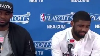 Kyrie Irving Reportedly Wants To Leave Cleveland Because He's Tired Of LeBron James Treating Him Like A Child