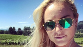 Lindsey Vonn's Brutal 'Mission Impossible' Ab Workout Just Looks Ridiculously Difficult