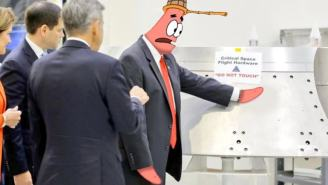 Best Memes From Vice President Mike Pence Touching NASA Equipment Labeled 'Do Not Touch'