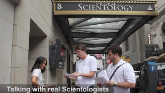 High-Level Scientologists Share $158,000 Worth Of Knowledge With Scientologists On The Street