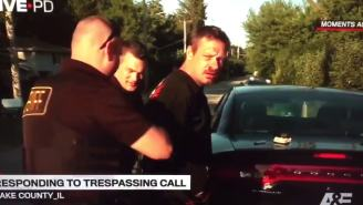 Bloodied Guy Gets Arrested And Starts Singing Pearl Jam On Live PD
