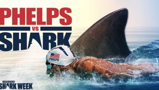 People Were Pissed Michael Phelps Didn't Race Against A Real Shark