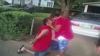 Handcuffed Dude Takes One Large Step For Mankind By Proposing To His Girlfriend While Being Arrested