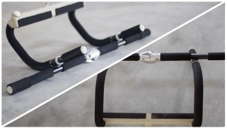 Stay In Shape While Traveling With The World's First Foldable Pull-Up Bar