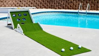 PUTT-PUTT + BEER PONG = PUTTER PONG, Your New Favorite Day Drinking Game