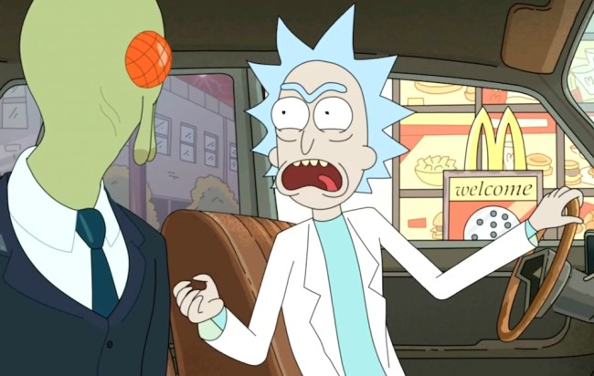 McDonald's Opened A Portal From 1998 To Deliver Szechuan Sauce To 'Rick And Morty' Creator