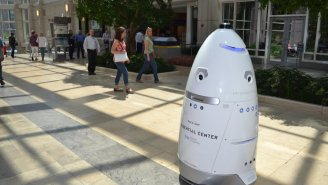 Crime-Fighting Security Robot Commits Suicide In A Fountain
