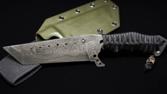 This Tactical Survival Knife Is The Ultimate Badass Survival Knife For Riding Out The Zombie Apocalypse