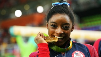 Simone Biles Dropped The Hammer On An Instagram Troll Who Chastised Her For Posting Beach Pics