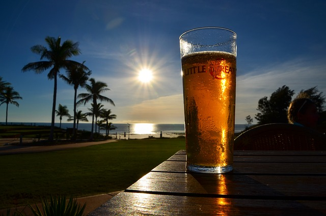 sunset beer