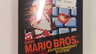 A Rare Copy Of Nintendo's 'Super Mario Bros' From 1985 Just Sold On eBay For $30,000