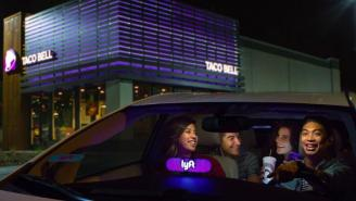 Stoners And Drunks REJOICE! Lyft And Taco Bell Team Up To Get You Late-Night Munchies!