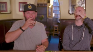 Two Bros Taste Test Hangover Cures From All Across The Planet And Germany's Is Horrifying