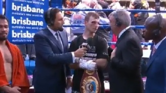 Teddy Atlas Straight Up Told Jeff Horn To His Face That He Thought Manny Pacquiao Won The Fight