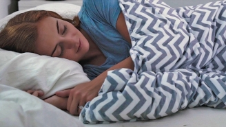 Feeling Stressed Out? Start Sleeping With A Weighted Blanket To Relieve Stress, According To Science