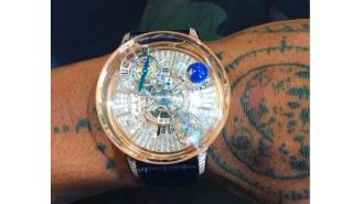 Travis Scott Bought An Insane $1 Million Jacob & Co. Watch That's 'Driven By The Celestial Vault'