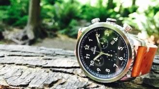 The Oakridge Field Watch Is Being Called 'The World's Most Adventurous Swiss Field Watch'