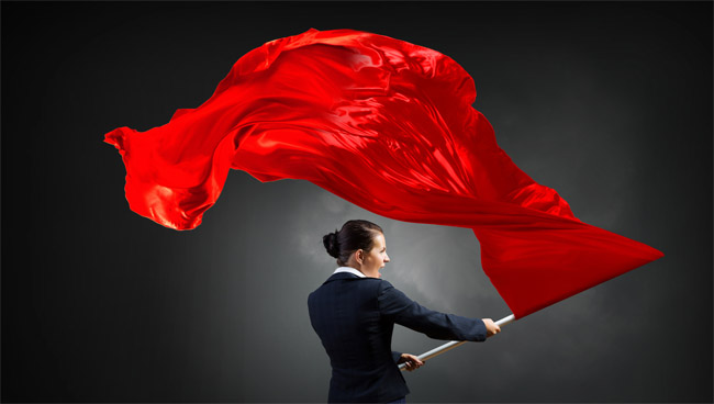 women reveal red flags dating men