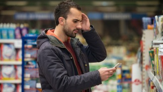 Every Husband Can Relate To This Guy Who Had A Total Meltdown Grocery Shopping For His Wife