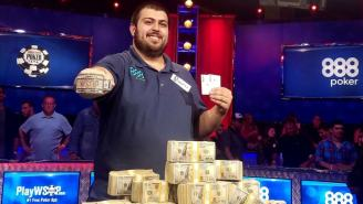 WATCH: Dramatic And Inconceivable Final Hand That Won The World Series of Poker And $8 Million