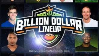 DraftKings Is Giving Away $1,000,000,000 — ONE BILLION DOLLARS!! — If You Draft The Perfect Lineup