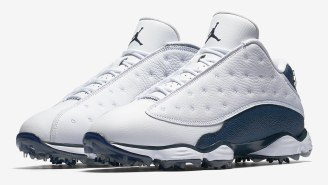 Nike To Release Air Jordan 13 Golf Shoes In Navy And White Colorway