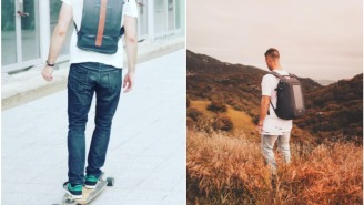 Cool On Kickstarter: Backpacks With Solar Panel Charging Ports And An All-Time Great Slim Wallet