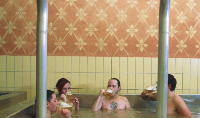 Austria Schloss Starkenberger beer pools