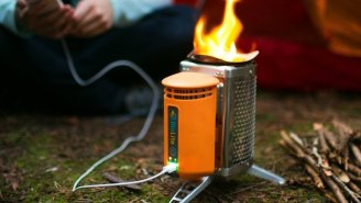 It's Now Possible To Charge Your Phone Using Fire. No, Seriously