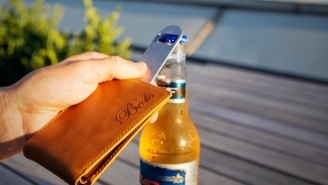 This Badass Slim Wallet Is Also A Bottle Opener For Crackin' Open A Couple Cold Ones With The Boys