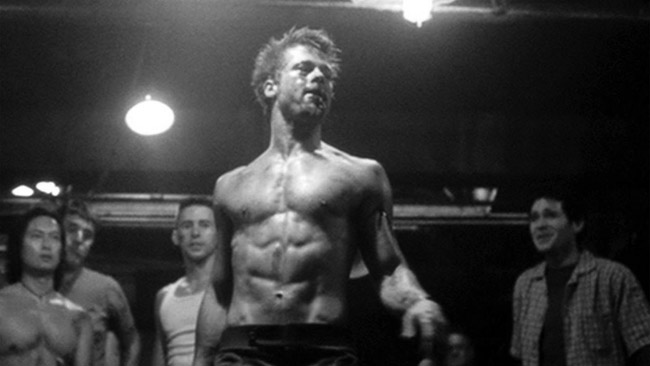 brad pitt workout routine diet plan fight club