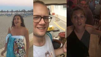 Bro Spends An Entire Vacation Trolling His Girlfriend With The Same Joke And It's Incredible