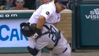 Yankees And Tigers Get Into Bench Clearing Brawl After Miguel Cabrera Throws Punches At Austin Romine At Home Plate