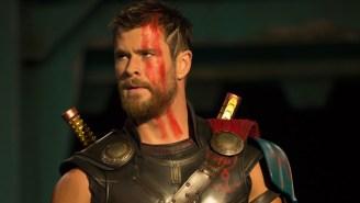 Chris Hemsworth Pokes Fun At Mayweather Vs. McGregor In Typical Chris Hemsworth Fashion