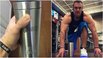 This Vacuum-Insulated, Stainless Steel Protein Shaker Is The Next Great Insulated Cup — Holds Ice For 30+ Hours!!!