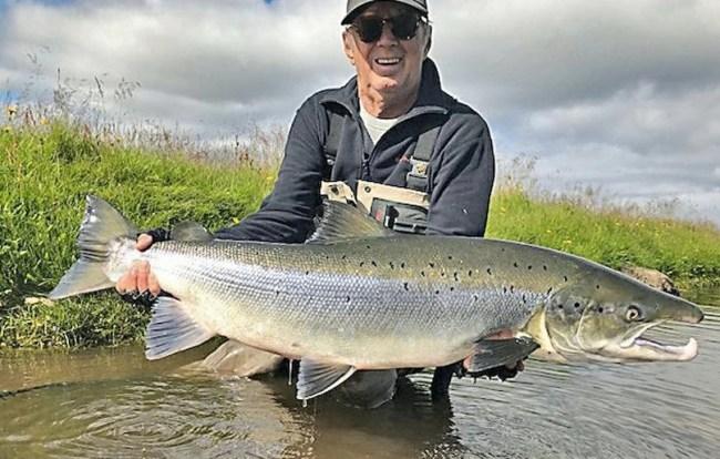 Eric Clapton Iceland Salmon Fishing