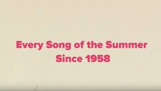 Here's Every 'Song Of The Summer' From Now Until Back In 1958