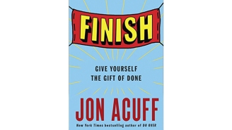 If Your Biggest Problem In Life Is Finishing What You've Started, This New Book Will Be Your Bible
