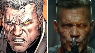 Ryan Reynolds Just Dropped The First Picture Of Josh Brolin As Deadpool's Badass Buddy Cable