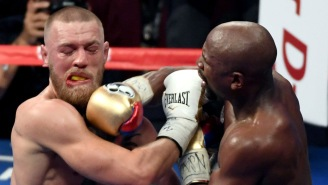 Floyd Mayweather Revealed The A+ Trash Talk He Dropped On McGregor In The Middle Of Their Fight