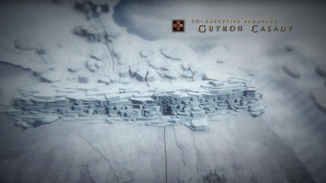 frozen sea game of thrones intro