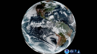 Satellite Footage Of Darkness Creeping Over The West Is Better Than Burning Your Eyes Staring At The Eclipse