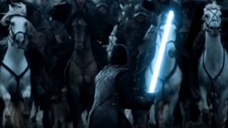 VIDEO: What If The Best Sword Fights From 'Game Of Thrones' Were 'Star Wars' Lightsaber Battles?
