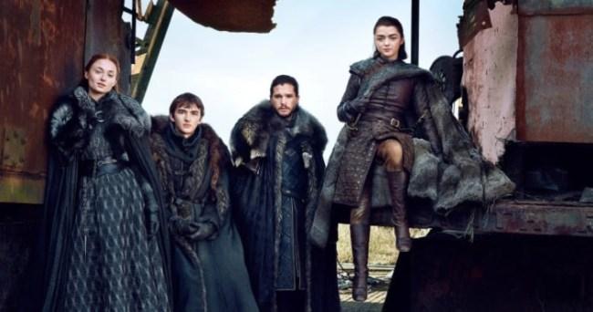 Game of Thrones Bran Jon Arya Sansa