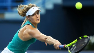 Whoops, Genie Bouchard Accidentally Posts Conversation In The Caption Of An Instagram Ad